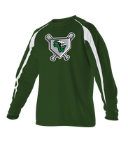 Gameday Long Sleeve Shirts w/ Homeplate Logo