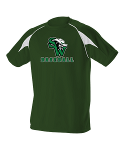 Gameday Short Sleeve Shirt w/ SW Baseball Logo (Available in Youth)