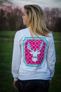 Deer Pink Long Sleeve Tee
