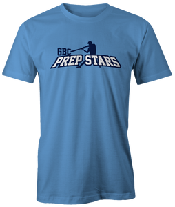 Carolina Blue Prep Stars Cotton Tee