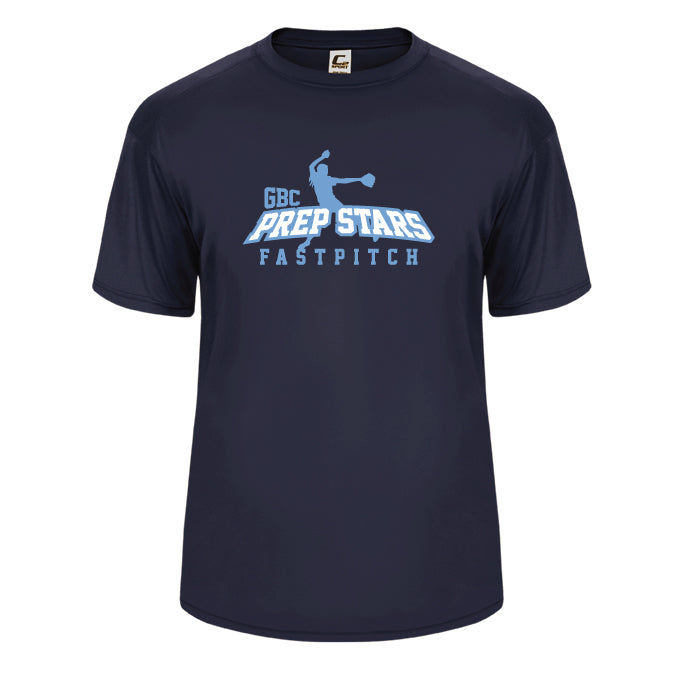 Navy Prep Stars Fast Pitch Performance Tee