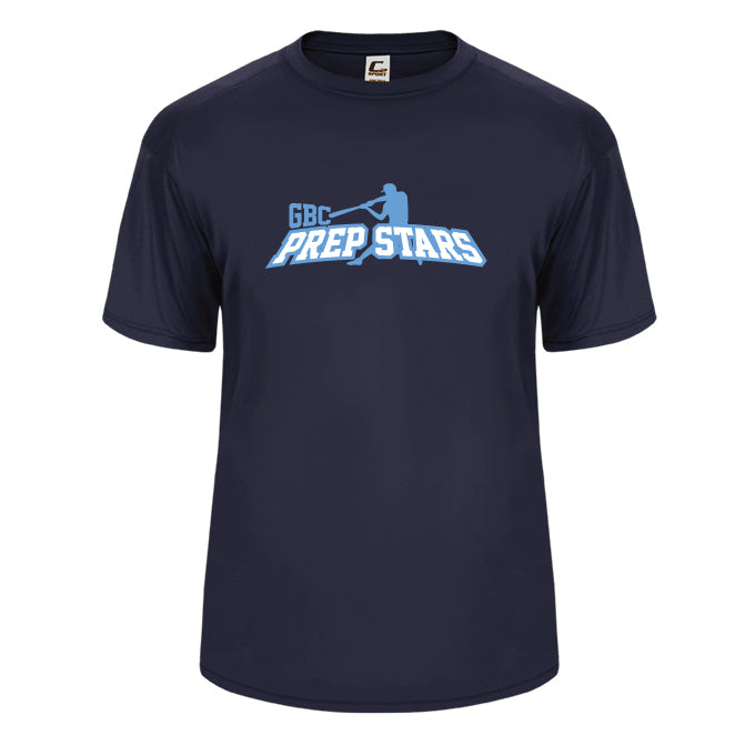 Navy Prep Stars Performance Tee