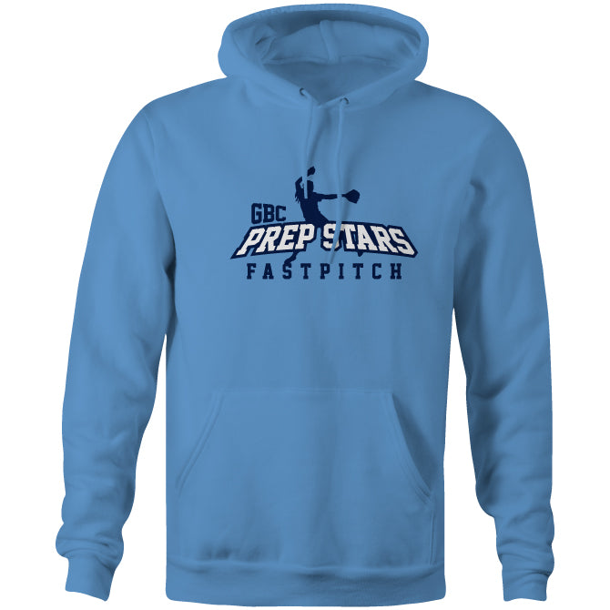 Carolina Blue Prep Stars Fast Pitch Cotton/Poly Hoodie