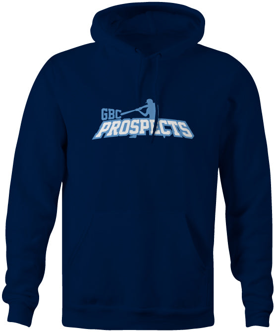 Navy Prospects Cotton/Poly Hoodie