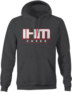 Dark Heather Cheer Cotton Hoodie