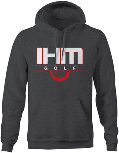 Dark Heather Golf Cotton Hoodie