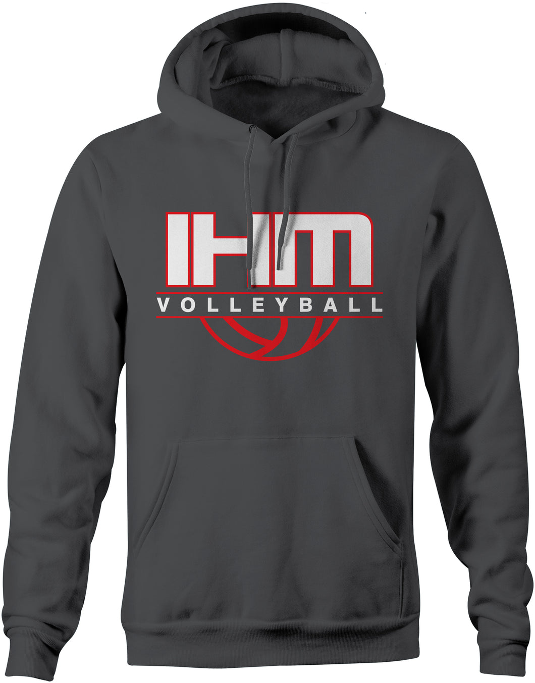 Graphite Volleyball Performance Hoodie