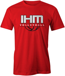 Red Volleyball T-Shirt
