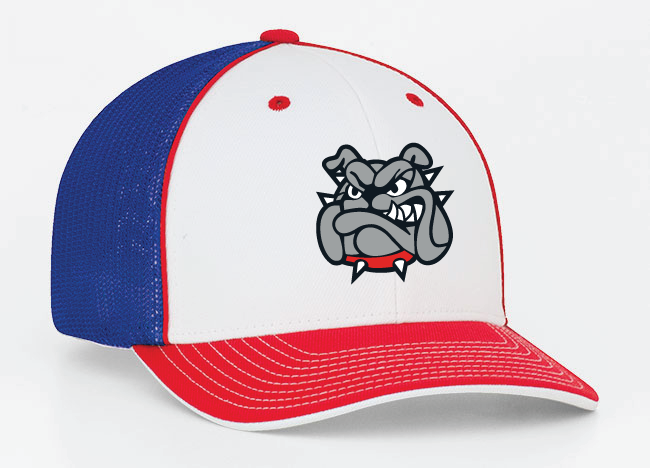 Red, White, & Blue Mesh Hat
