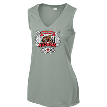 Muddogs Ladies Dry-Fit Sleeveless V-Neck