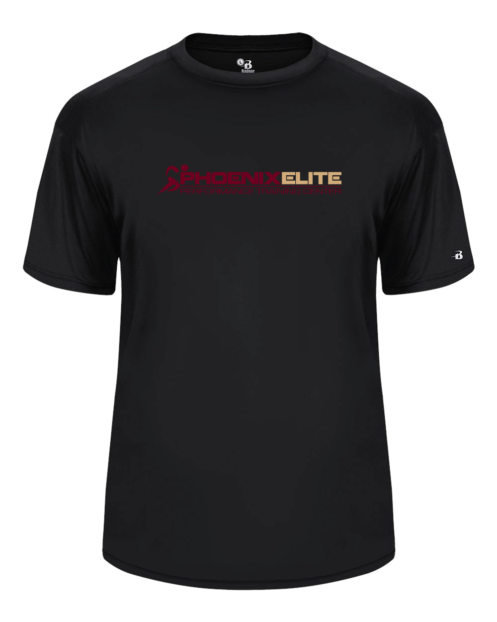 Phoenix Elite Performance Short Sleeve Shirt - Black