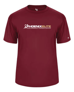 Phoenix Elite Performance Short Sleeve Shirt - Cardinal