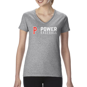 Sport Grey Cotton V-Neck