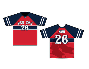 Carolina Red Sox Haynes Game Jersey - Red