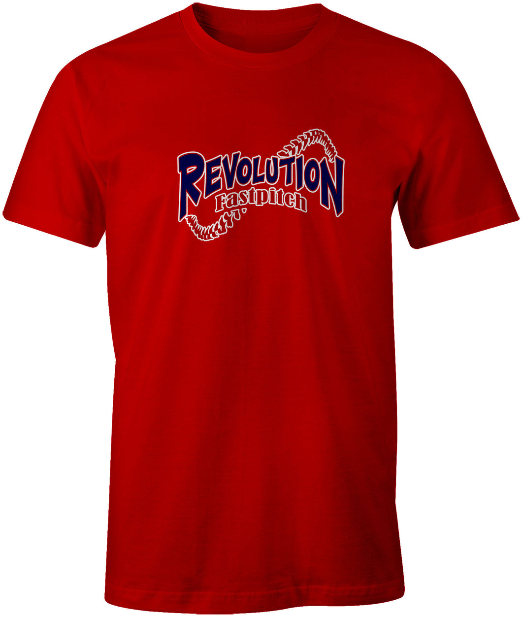 Red Cotton Logo Shirt