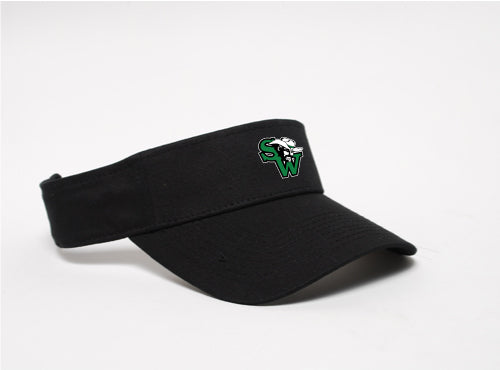 Black Visor - SOFTBALL UNIFORM ITEM
