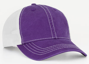 Purple/White Pacific V67 Vintage Trucker Mesh