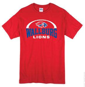 Wallburg Athletics Football Tee