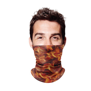 Bacon Gaiter Face Mask