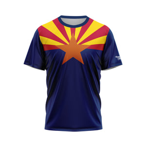 Arizona Flag Performance Tee