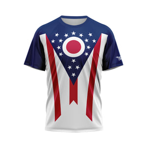 Ohio Flag Performance Tee