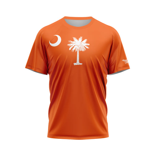 Orange South Carolina Flag Performance Tee