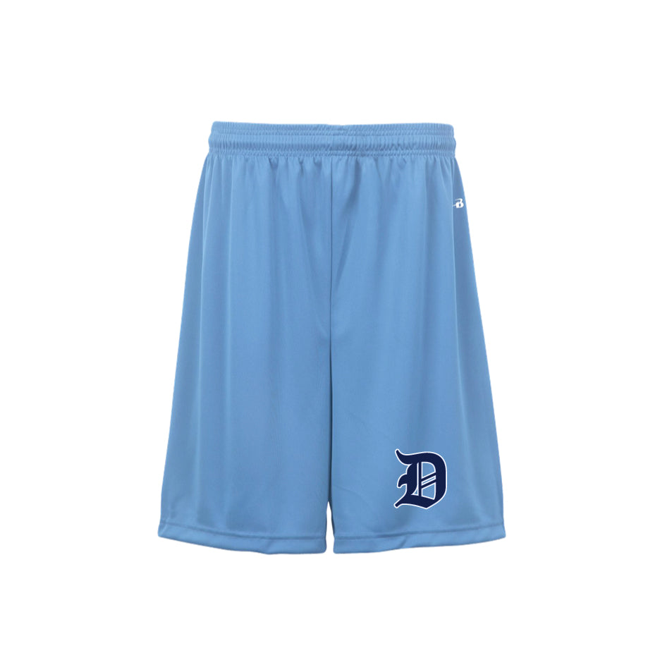Carolina Blue Pocketed Shorts