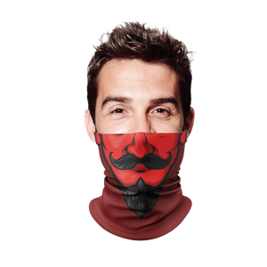 Devil Gaiter Face Mask