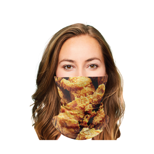 Fried Chicken Gaiter Face Mask