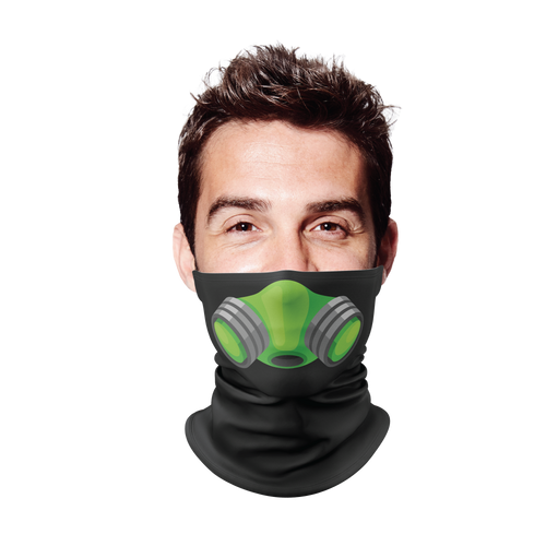 Gas Mask Gaiter Face Mask