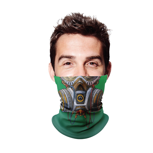 Gas Mask 2 Gaiter Face Mask