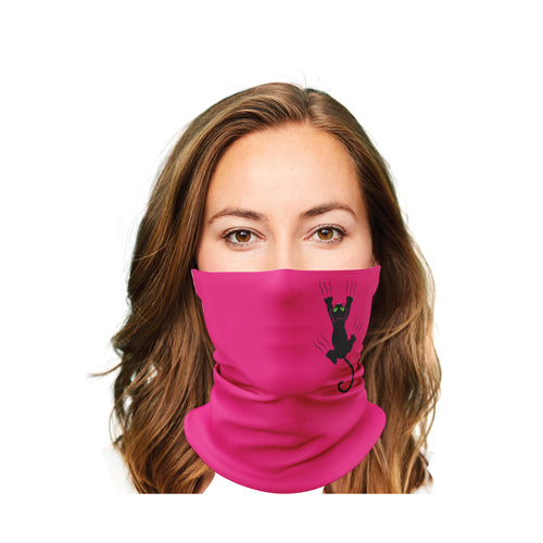 Hanging Cat Gaiter Face Mask