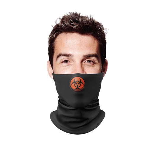 Hazard 3 Black Gaiter Face Mask