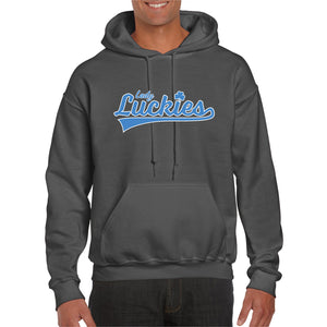 Lady Luckies Charcoal Hoodie