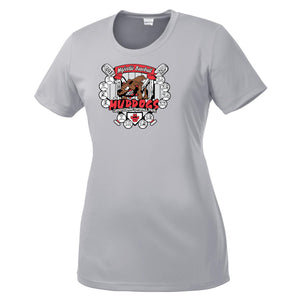 Muddogs Ladies Dry-Fit Crew Neck Tee Shirt