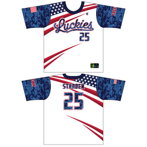 Luckies White Jersey