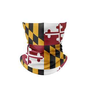 Maryland Flag Gaiter Face Mask