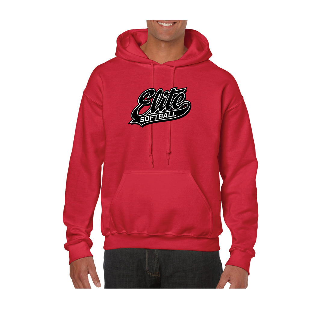 Red Cotton/Poly Hoodie
