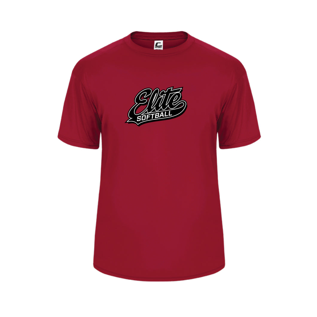 Red Performance Tee