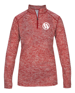 Big Game Women's Heather Dryfit 1/4 Zip Pullover (XS-2X)