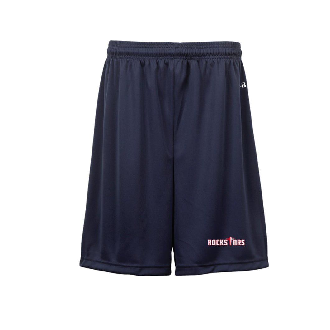 Navy Pocketed Shorts