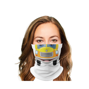 School Bus 1 Gaiter Face Mask