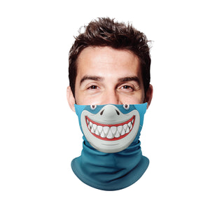Shark Gaiter Face Mask