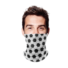 Soccer Ball Gaiter Face Mask