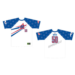 White / Royal Game Jersey