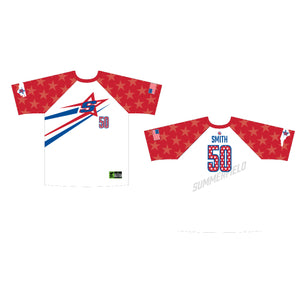 White / Red Game Jersey