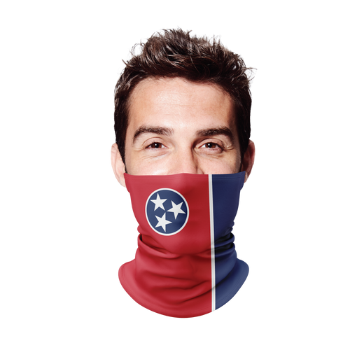 Tennessee Flag Gaiter Face Mask