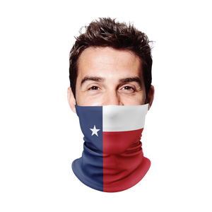 Texas Flag Gaiter Face Mask
