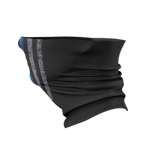 Thin Blue Line Gaiter Face Mask