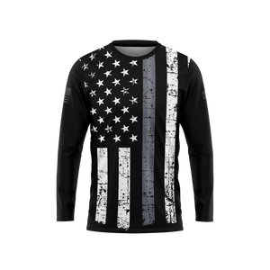 Thin Gray Line Long Sleeve Performance Tee